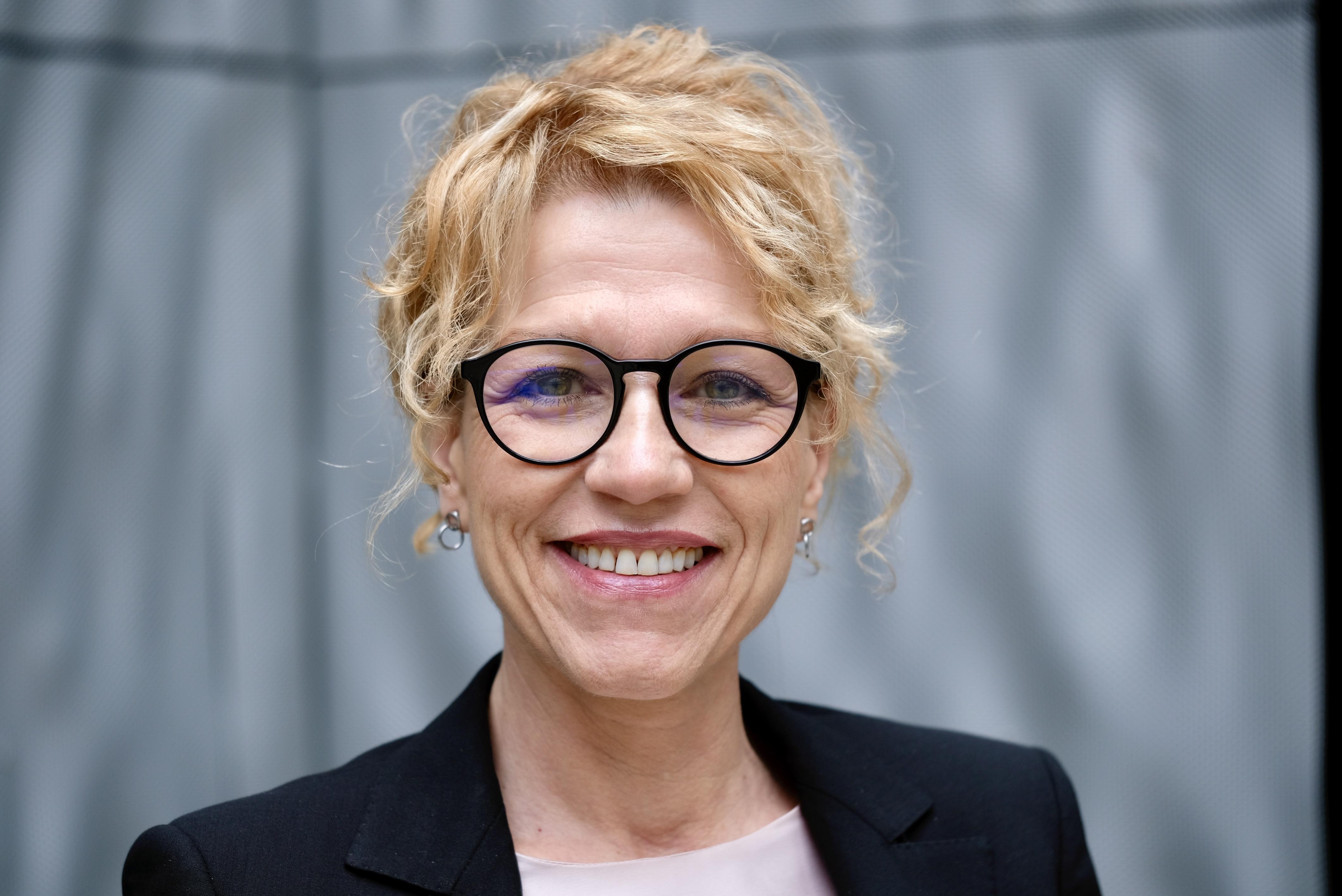 Businessportrait einer Geschäftsfrau in Zürich